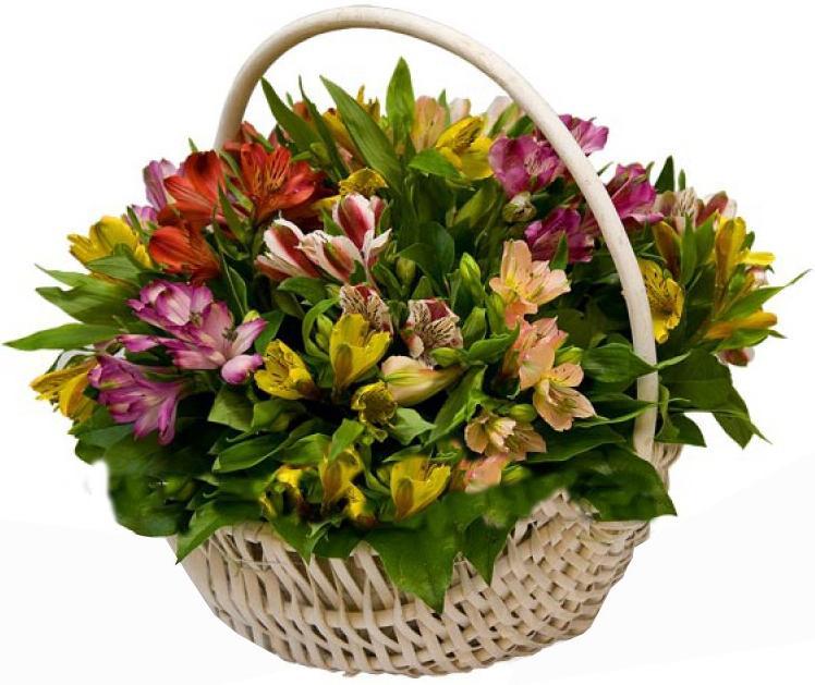 Доставка букетов корзина, цветов актау